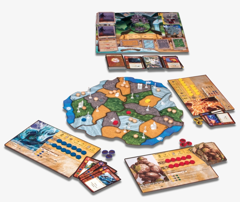 Image From The Publisher - Spirit Island Board Game, transparent png #801443