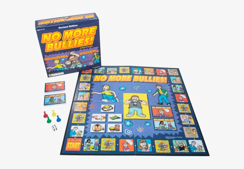 Board Game - No More Bullies Board Game, transparent png #801550