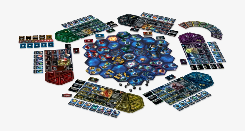 The Biggest Announcement Thus Far Is Arguably, What - Twilight Imperium 4th Edition Board Game, transparent png #801644