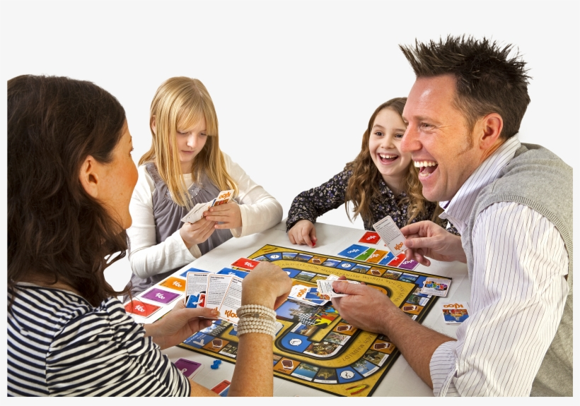 Family Games Png - Kloo French Games - Race To Paris Board Game, transparent png #802065