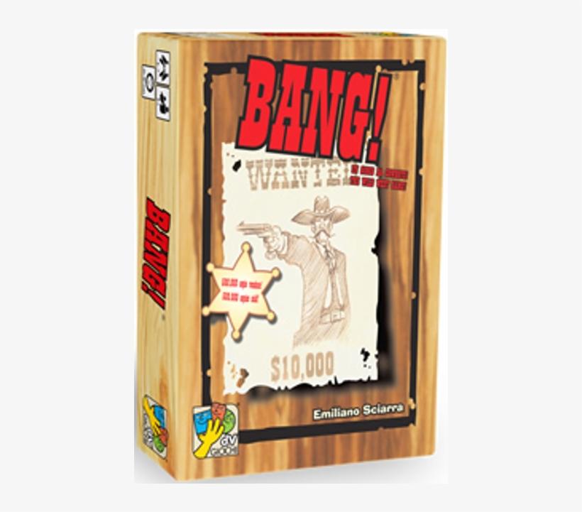 4th Edition Card Game - Bang Bang Board Game, transparent png #802087