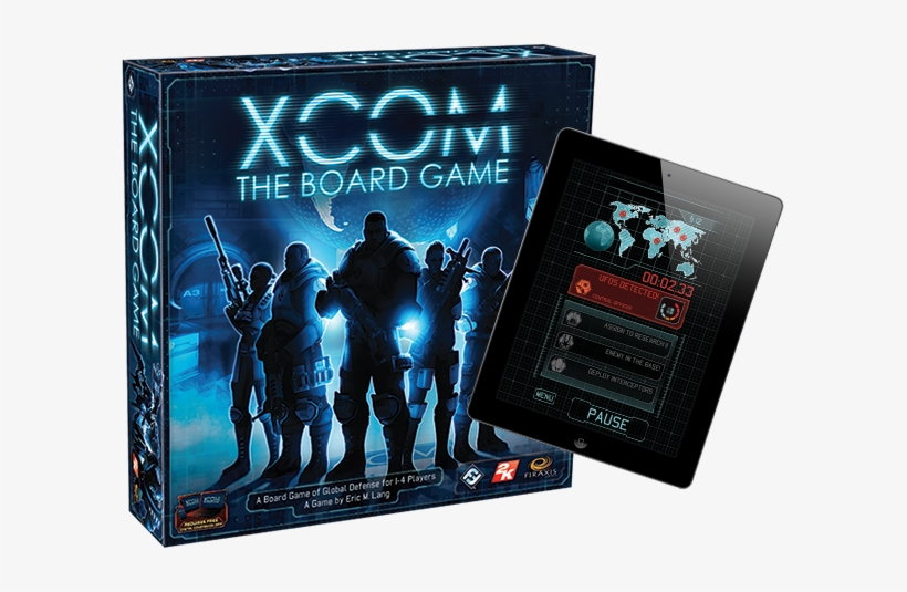 """each Round, The App Tracks The Time You Have Allotted - Fantasy Flight Games Xcom: The Board Game, transparent png #802450"