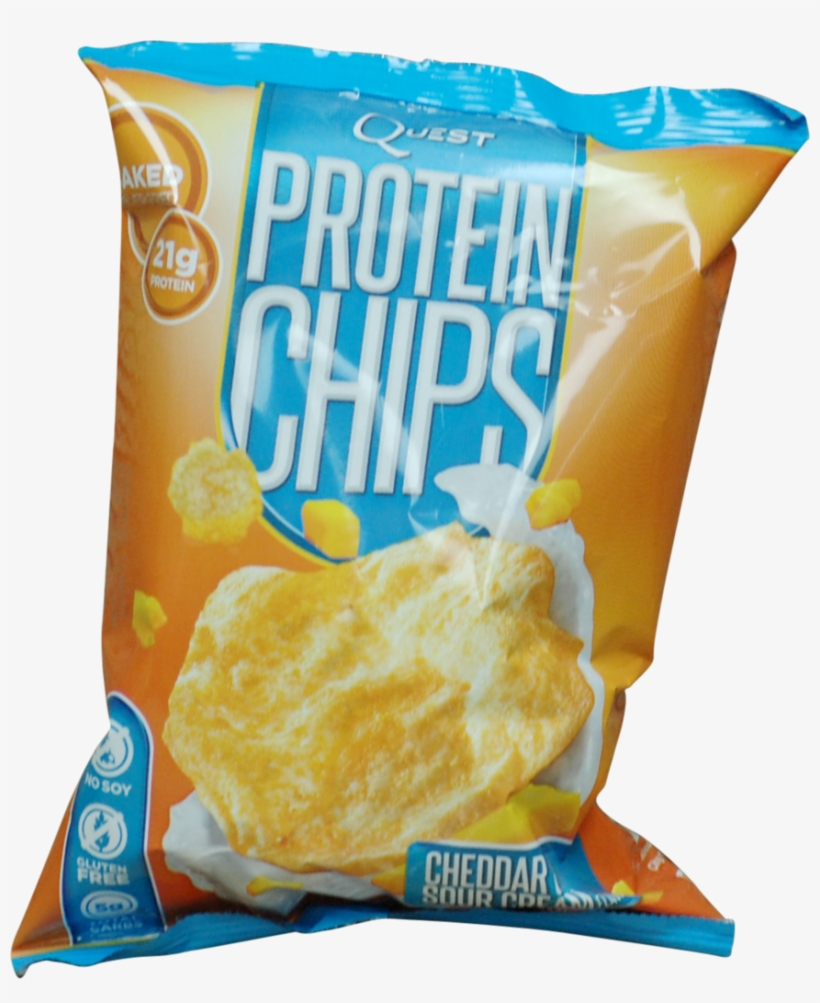 Quest Nutrition Quest Protein Chips Cheddar And Sour - Quest 32 G Cheddar And Sour Cream Protein Chips Bags, transparent png #802701