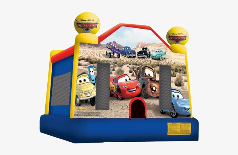 Disney's Cars Bounce House Rental - Lightning Mcqueen Bounce House, transparent png #802941