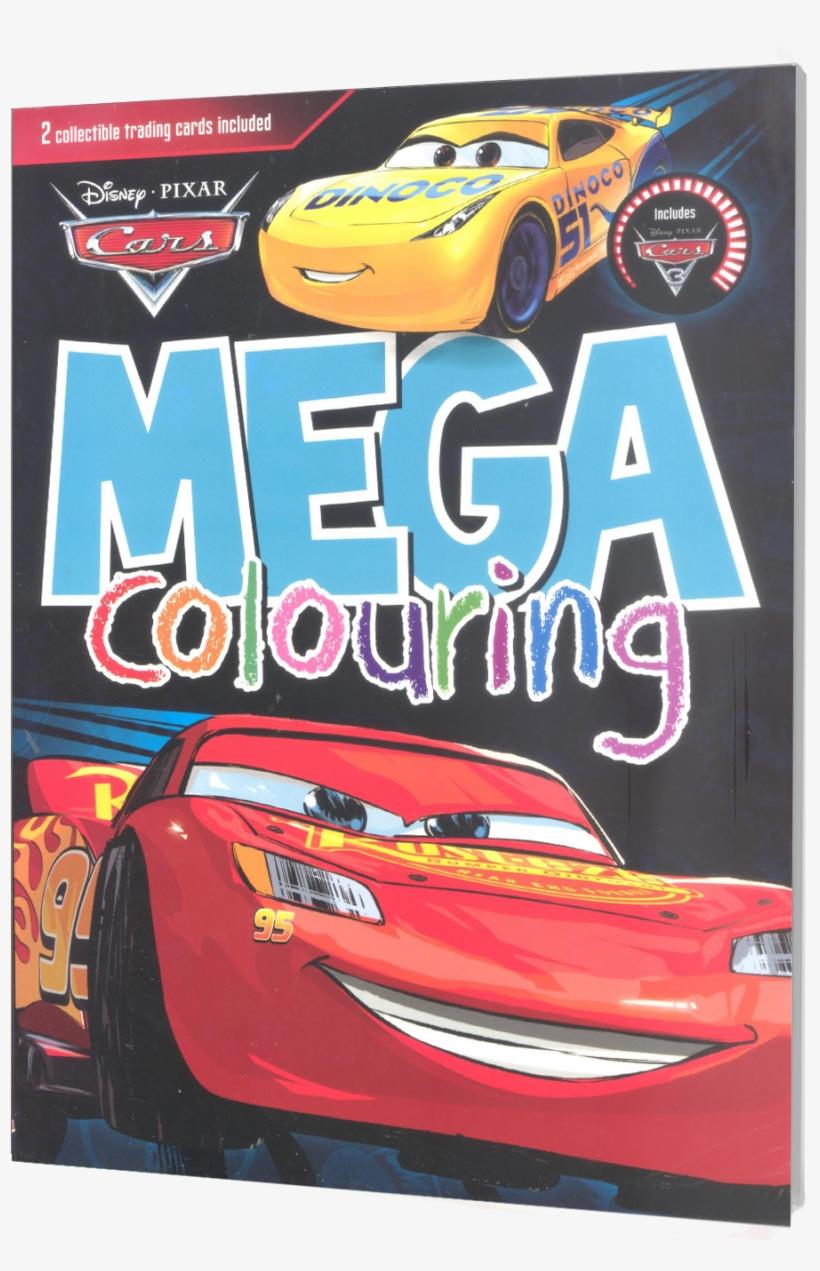 Picture Of Disney Mega Coloring - Disney Pixar Cars Mega Colouring By Parragon Books, transparent png #803178