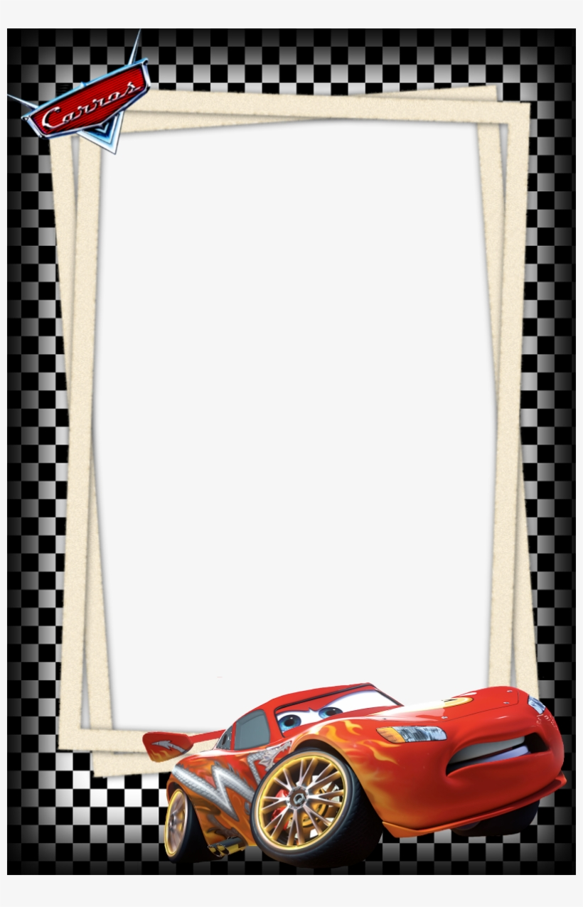 Disney Cars Frame Png - Cars Borders And Frames, transparent png #803254