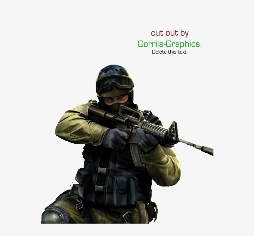 Counterstrike Source Render Sigtutorials - Counter Strike Source Render, transparent png #804102