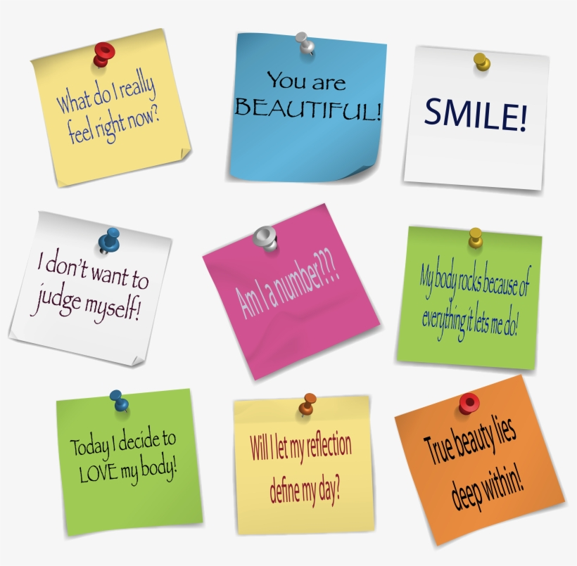 Pink Post It Png Download - Transform Your Body Transform Your Life, transparent png #805783