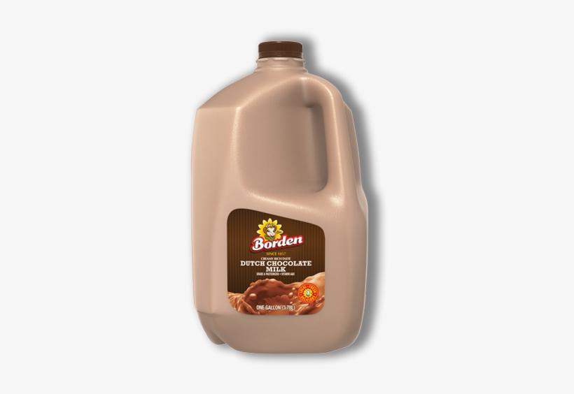 Dutch Chocolate Milk - Borden Milk, Lowfat, Dutch Chocolate, 1% Milkfat -, transparent png #808099