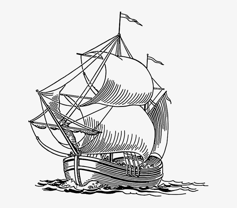 Sailing Boat Clipart Layar
