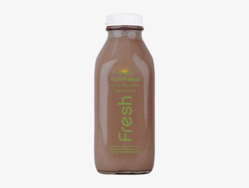 Dark Chocolate Milk - Trickling Springs Dark Chocolate Milk, transparent png #808342