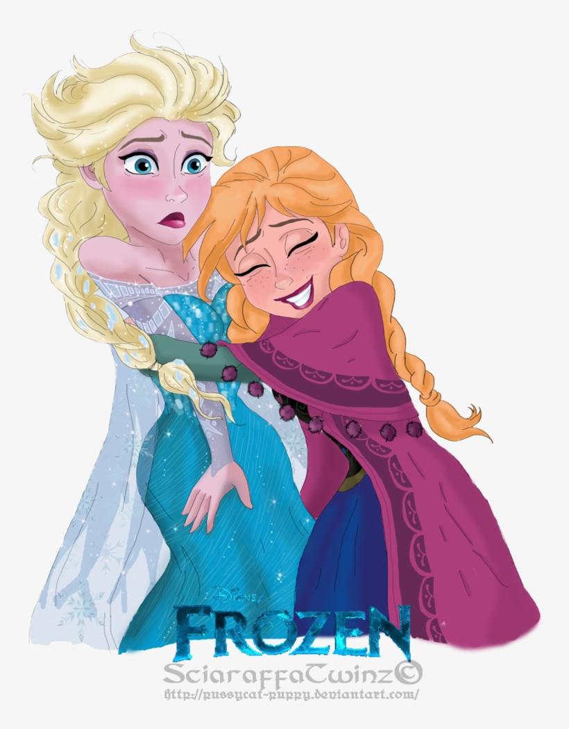 Anna And Elsa - Anna And Elsa 2d, transparent png #808402
