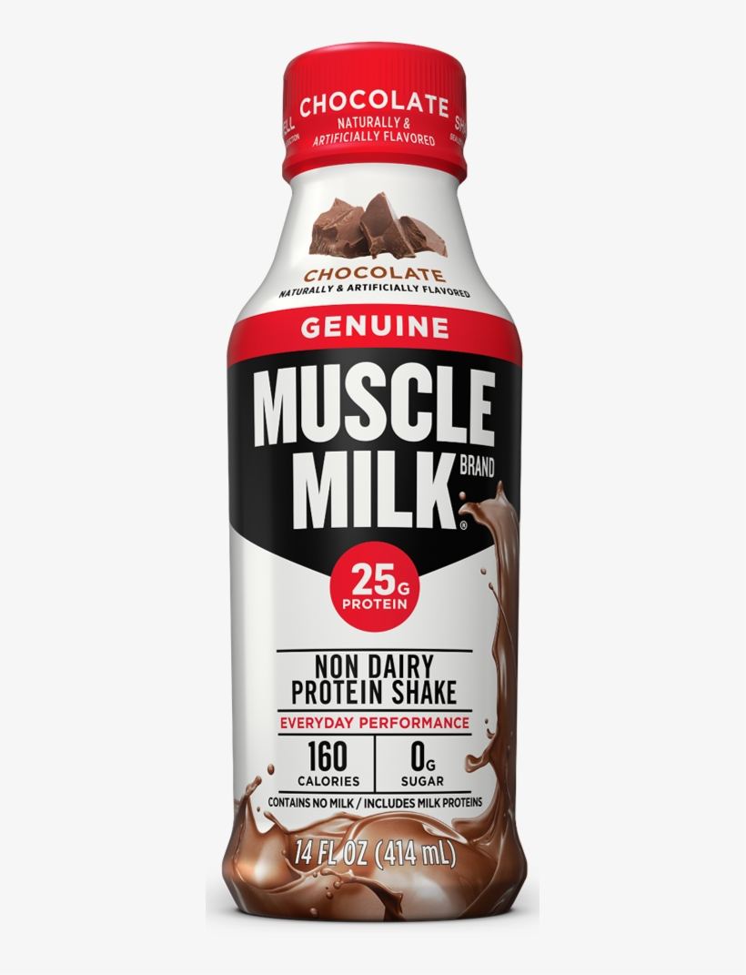 Muscle Milk Chocolate - Genuine Muscle Milk Protein, transparent png #808753
