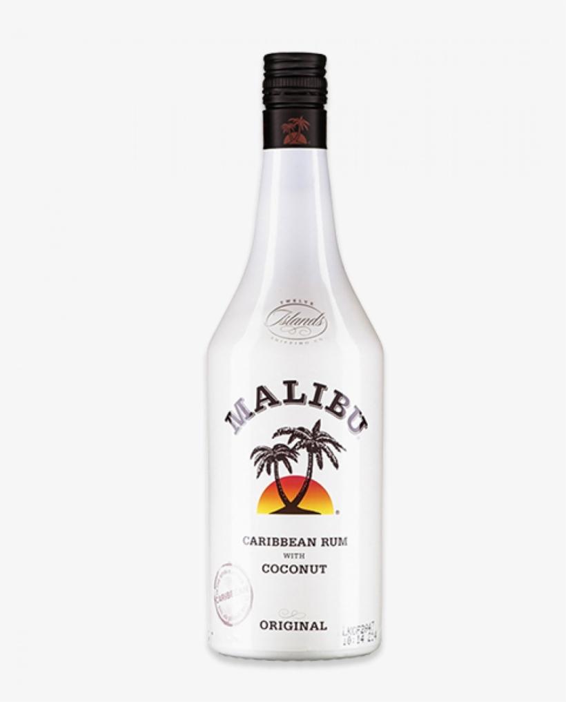 Malibu Rum 70cl - Malibu Rum Tropical Banana, transparent png #809735