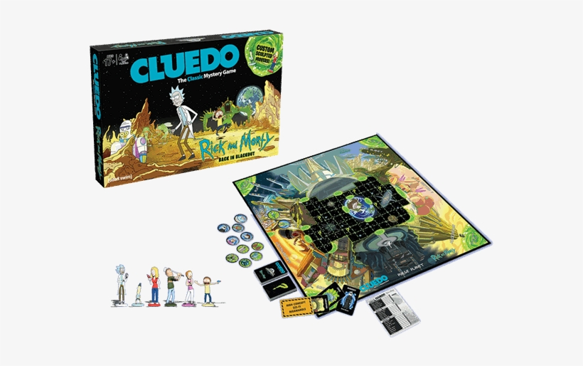 1 Of - Rick And Morty Board Games, transparent png #8006002