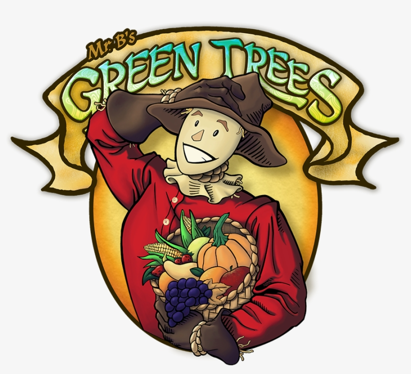 B's Green Trees - Mr Green Trees, transparent png #8016047
