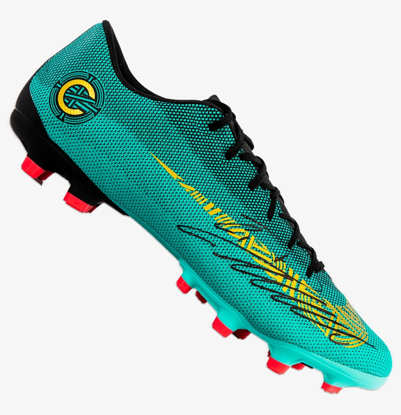 Cristiano Ronaldo Signed Nike Cr7 Mercurial Superfly - Nike Mercurial Cristiano Ronaldo, transparent png #8016897