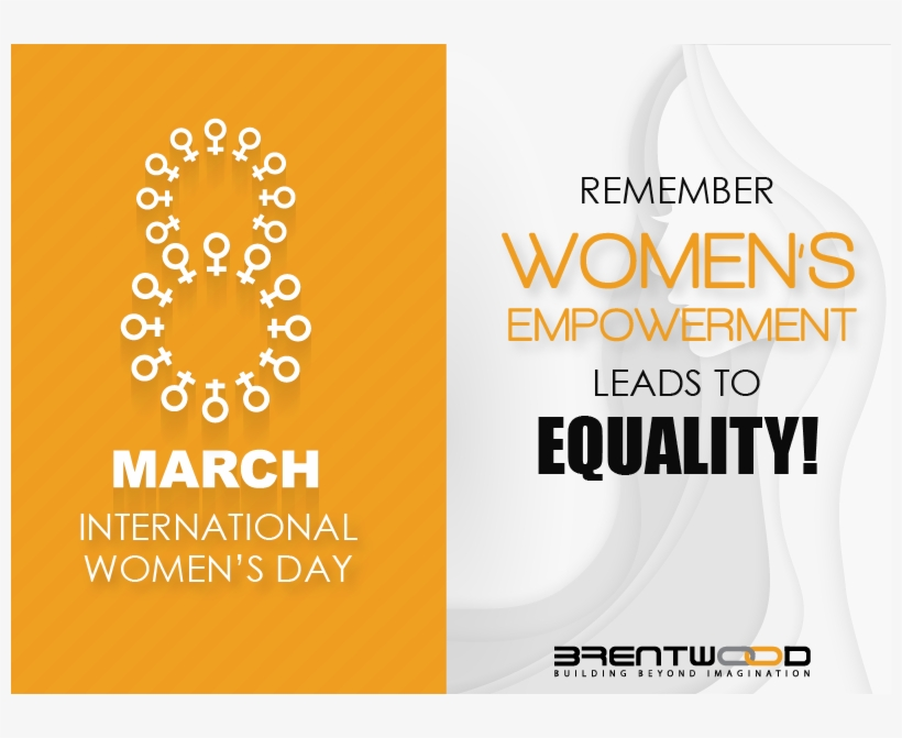 Happy International Women's Day Lets Support And Work - Graphic Design, transparent png #8025699