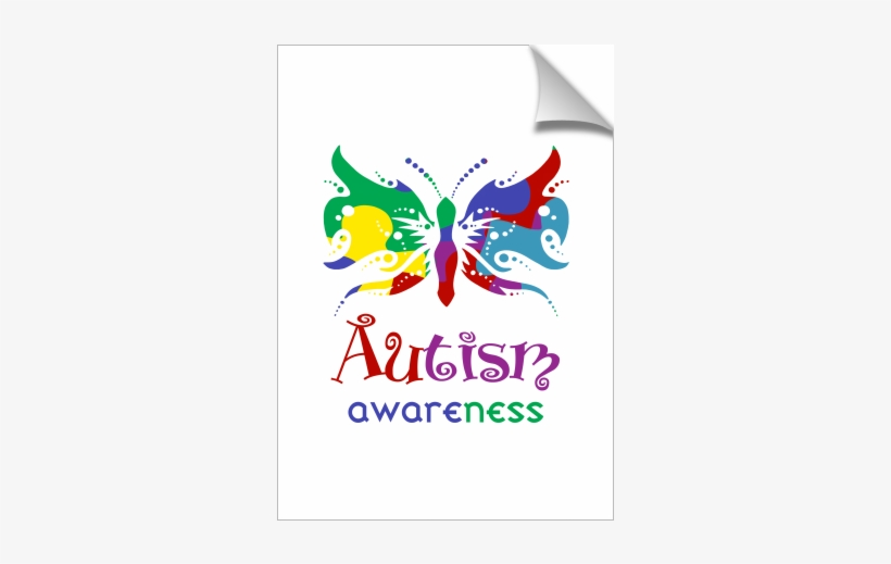 Autism Awareness Butterfly, transparent png #8029502