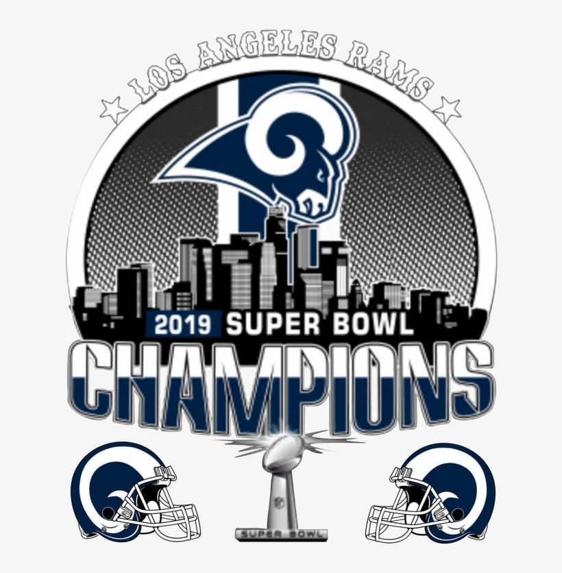 Our La Rams Super Bowl Champions Shop Has Limited Edition - Graphic Design, transparent png #8033254