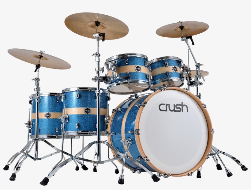 2500 X 1818 13 - Mapex Armory Photon Blue Drum Set, transparent png #8035386