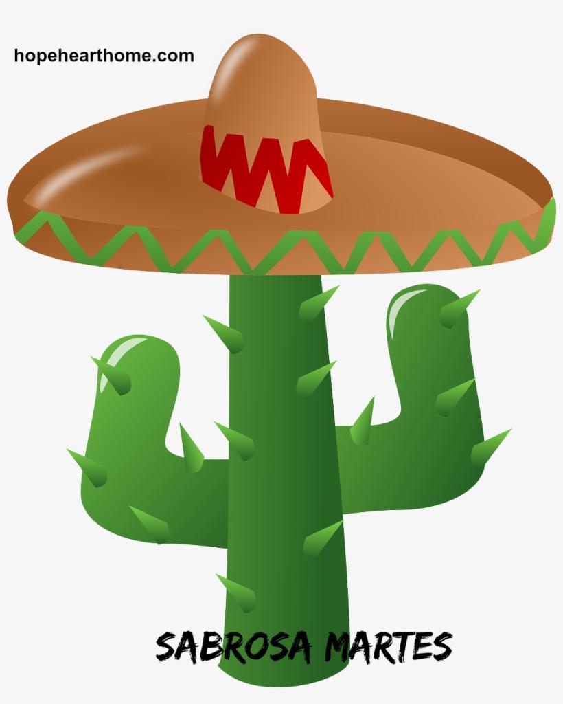 Discover Ideas About Cactus Hat - Cinco De Mayo Png, transparent png #8038160