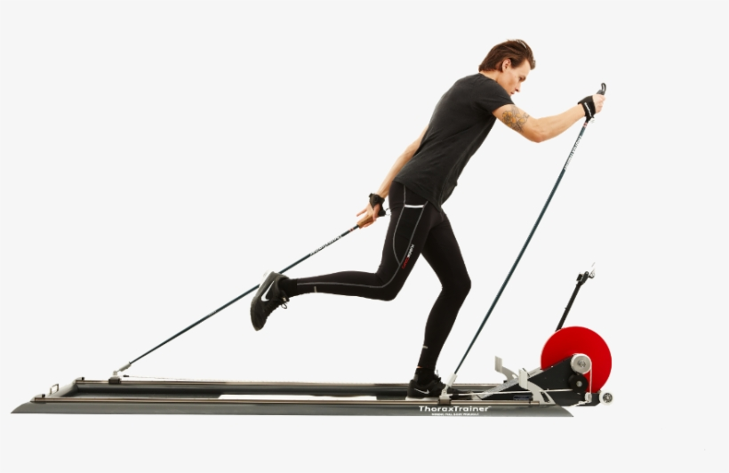 The Thoraxtrainer Was Created By Dr - Cross Country Skiing Simulator, transparent png #8040488