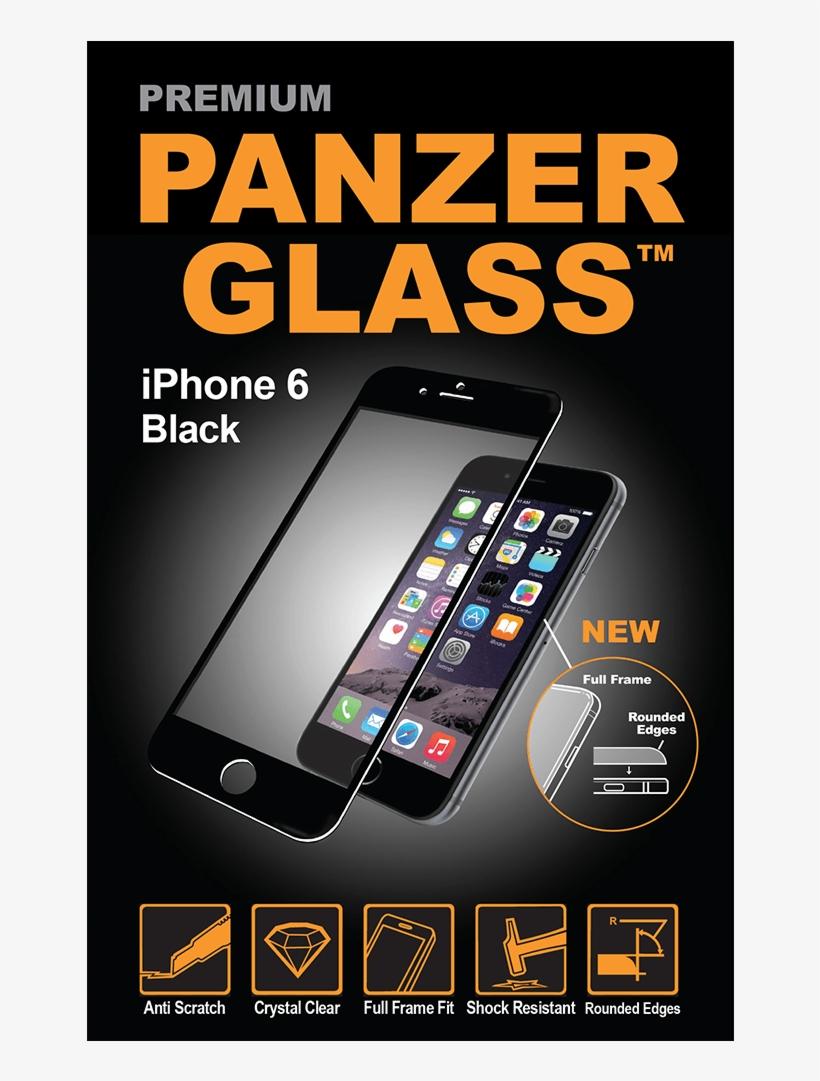 Panzerglass - Panzerglass Iphone 6 3d, transparent png #8045244