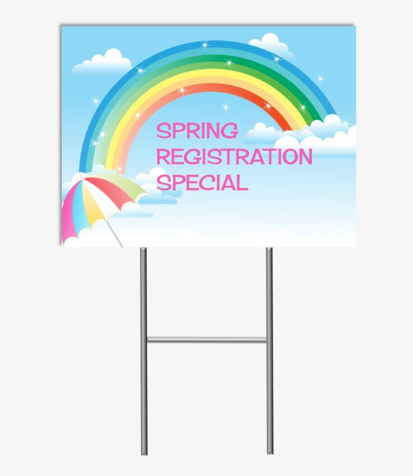 Spring Special Yard Sign - Graphic Design, transparent png #8046971