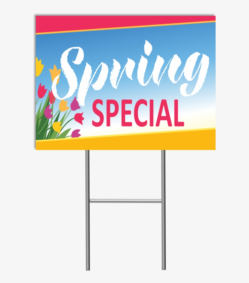 Spring Special Yard Sign - Spring Fit Mattress, transparent png #8047515