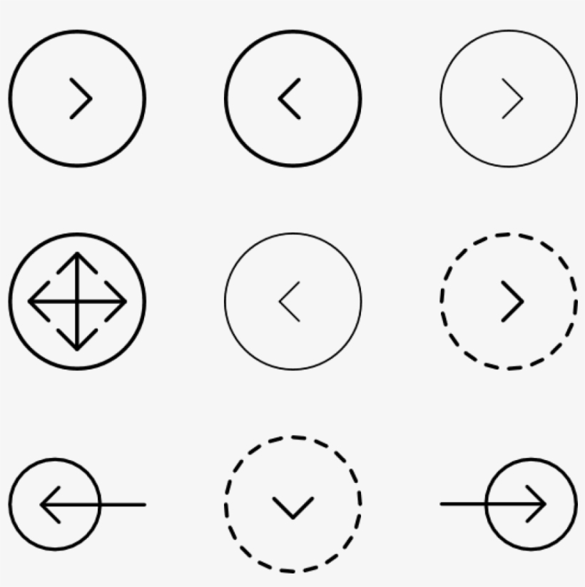 Free Png Download Arrow Button Design Png Images Background - Arrow Button Design, transparent png #8050664
