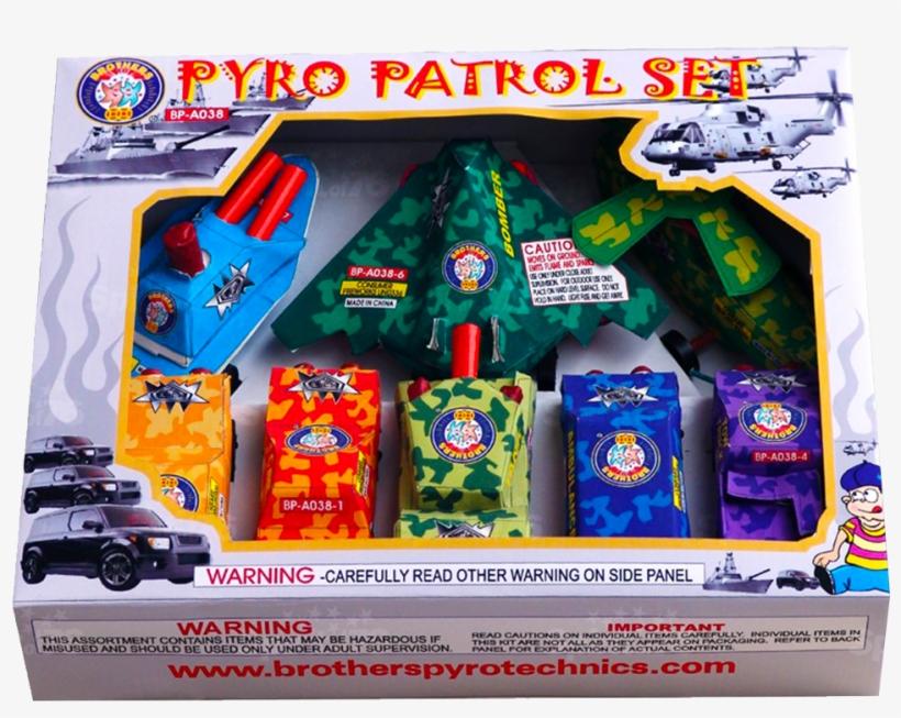 Pyro Patrol Set S&s - Model Car, transparent png #8050802