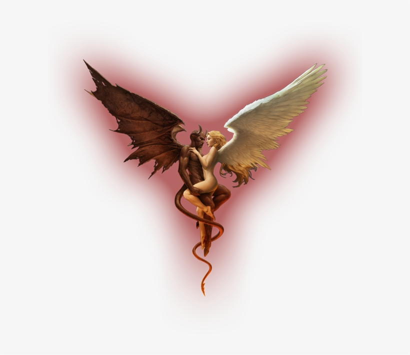 Angel Devil Wings Photo - Devil Angel Wings Png, transparent png #8050937