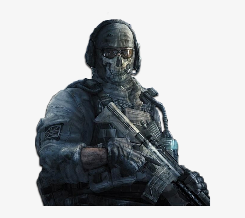 Code - [img]http - //store - Picbg - [/img] - Duty Modern Warfare 2 Ghost, transparent png #8053807