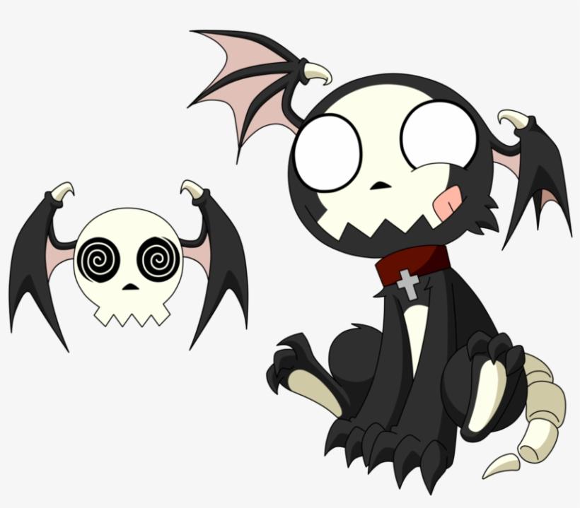 Jpg Free Download Drawings Of Monsters Design By Lunatic - Cute Monster Drawings Anime, transparent png #8057155