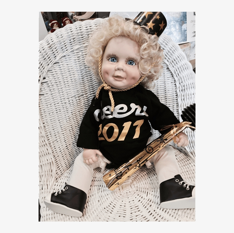 Baby Doll New Year 2017 Born - Girl, transparent png #8058055