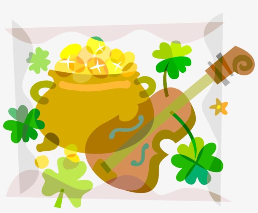Vector Illustration Of St Patrick's Day Irish Mythology