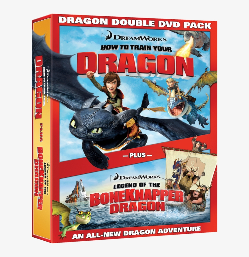 Dreamworks Animation - Train Your Dragon Dvd Cover, transparent png #8065206