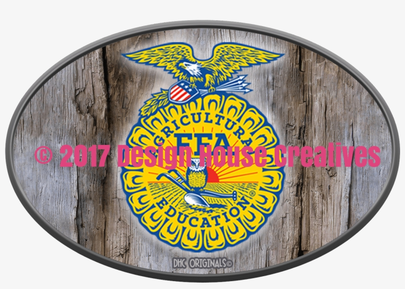 Officially Licensed Ffa™ Hand Hewn Wood Decal - Ffa Supporter, transparent png #8067386