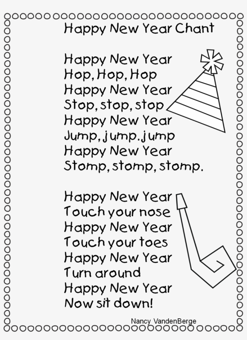 New Year New Year Songsten Song Download Years Lyrics Children S Hospice South West Free Transparent Png Download Pngkey