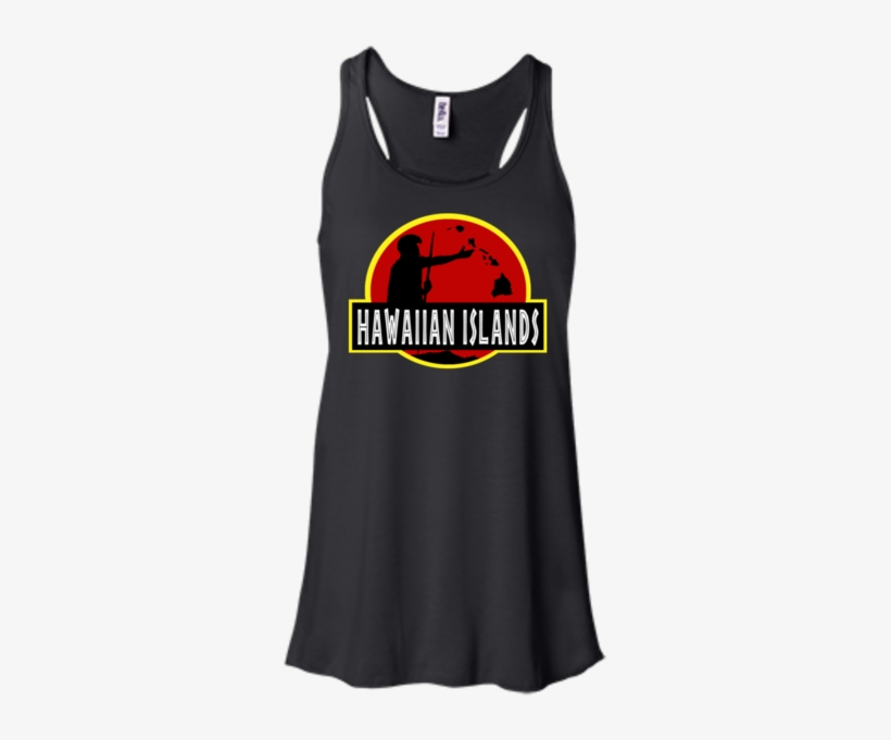 Hawaiian Islands Bella Canvas Flowy Racerback Tank, - Bella + Canvas Ladies' Flowy Racerback Tank B8800, transparent png #8075718