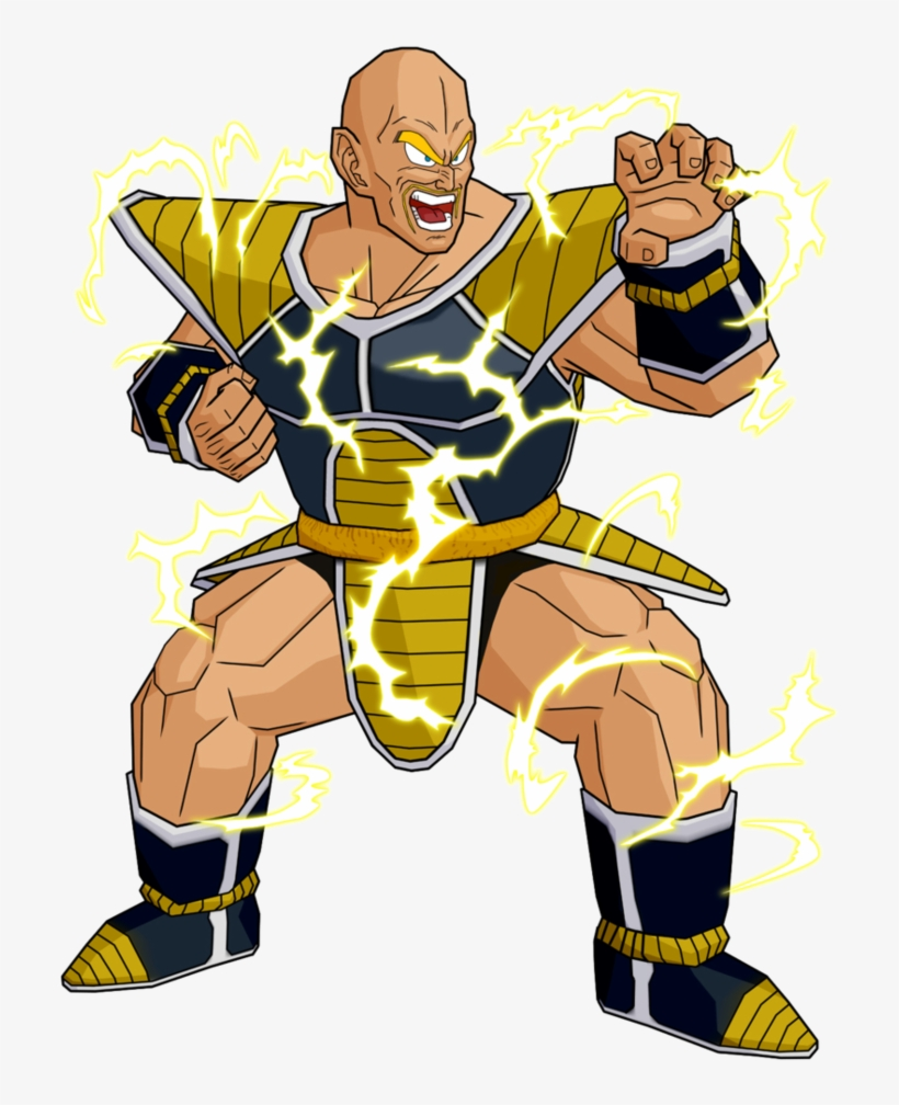 Nappa As A Super Saiyan - Dragon Ball Z Nappa Ssj, transparent png #8080342