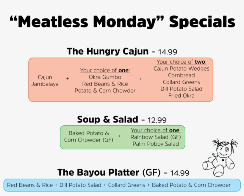 Meatless Monday Combo Sign - Save Our Wildlife, transparent png #8080762