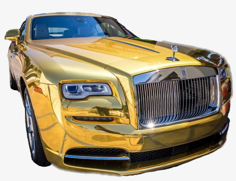 Gold Car Bently Rich - Gold Luxury Car Png, transparent png #8092332