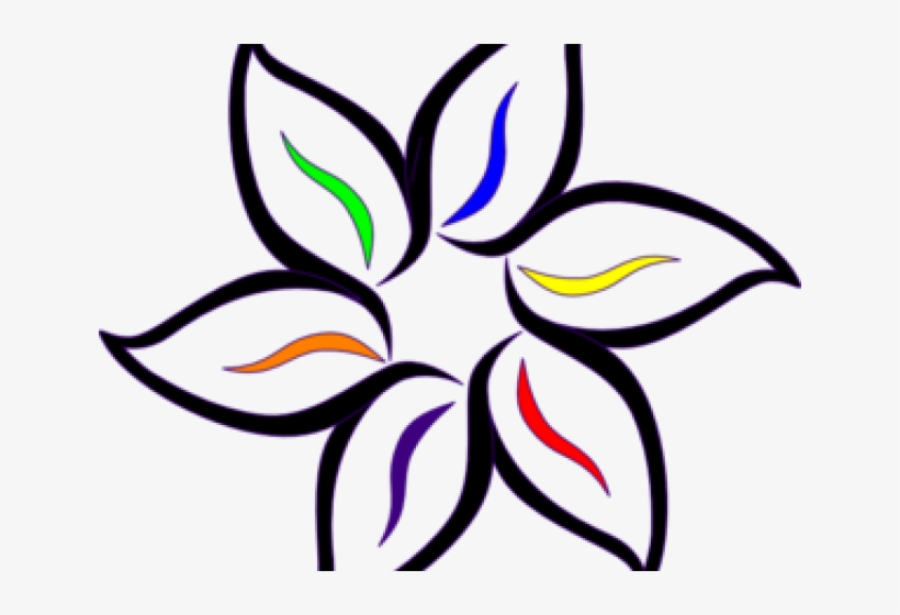 Simple Beautiful Drawings Flowers, transparent png #8096348