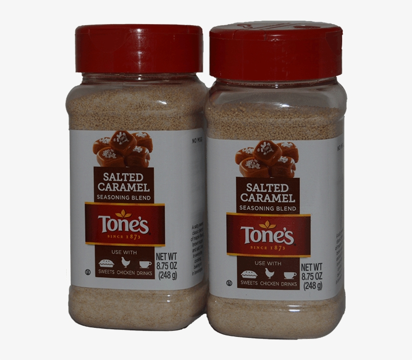 Tones Salted Caramel Seasoning 2 X - Tones Salted Caramel Seasoning, transparent png #8096578