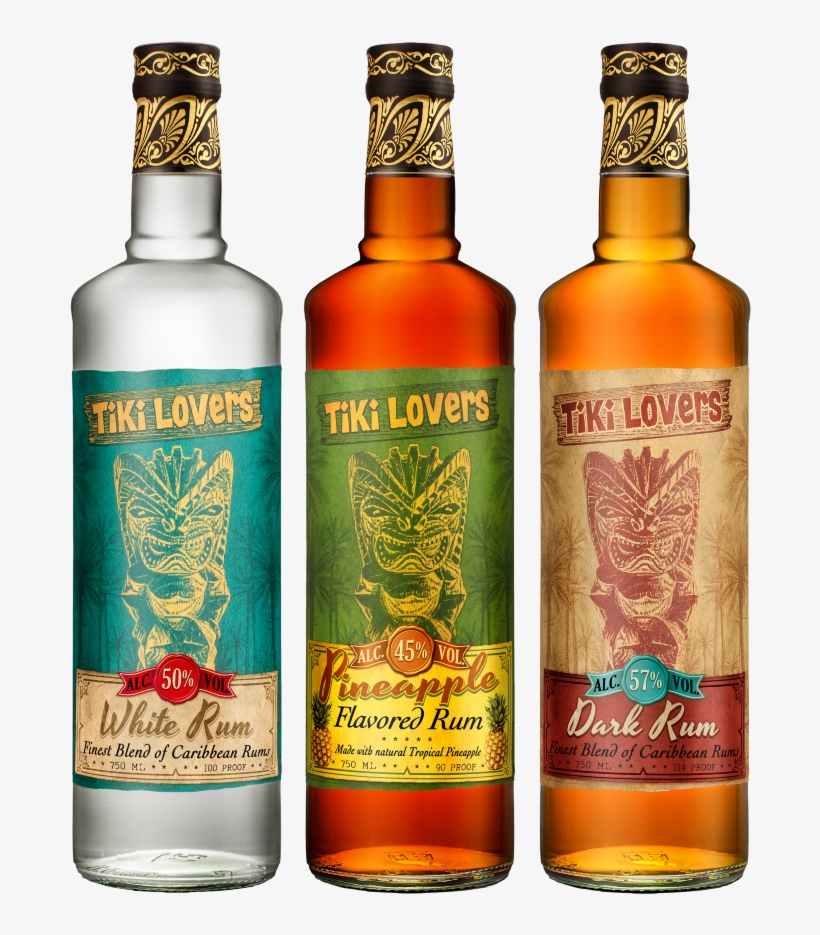 Any Guesses Who The New Line Of Rums, Called Tiki Lovers - Blended Whiskey, transparent png #810564