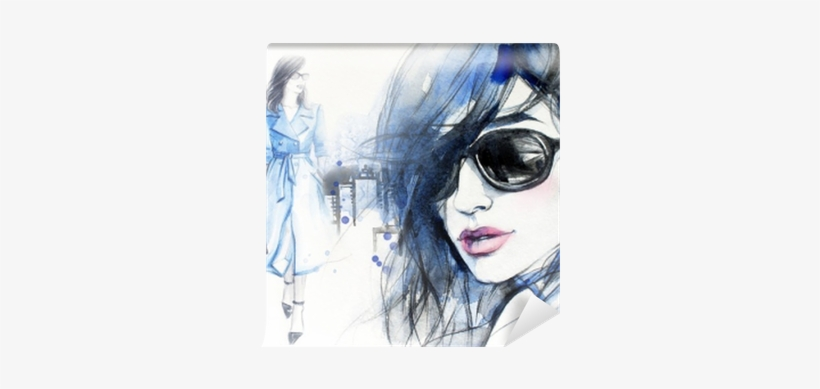 Woman In Coat - Abstract Woman, transparent png #810752