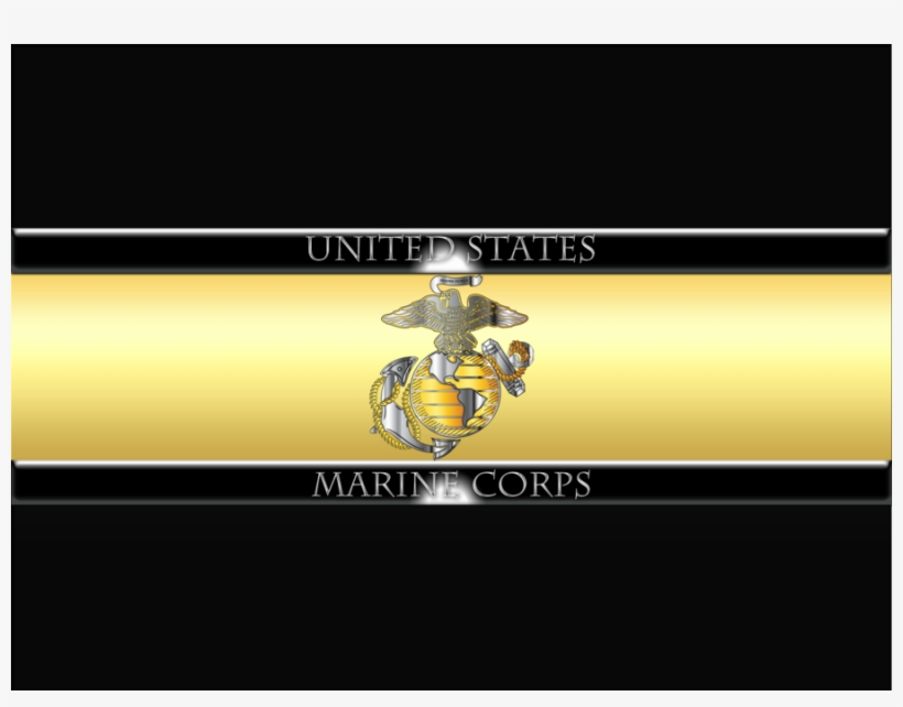 Download Usmc Custom License Plate Us Marines Corps - United States Marine Corps, transparent png #811502