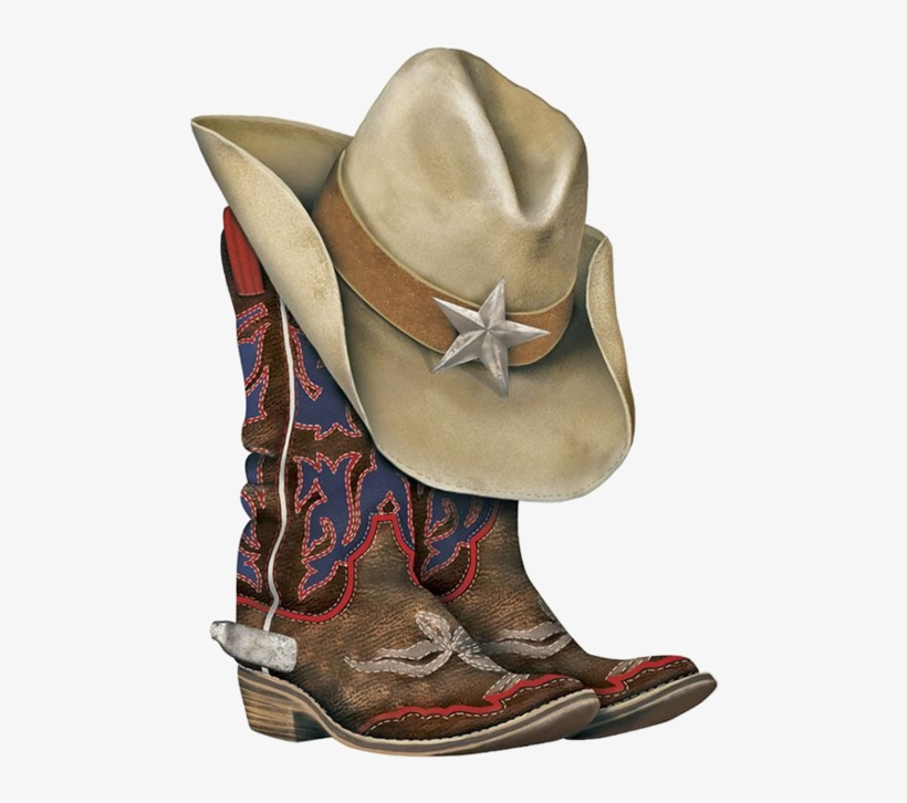 Cowboy Hat And Boots Png, transparent png #811508